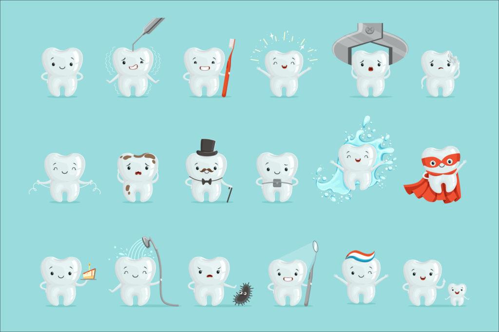 每個人擁有多少隻牙齒都因人而異  。