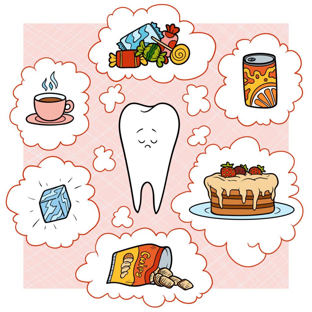 經常攝食含糖類飲料和油炸類的食物,會造成營養不均衡、身體發展停滯。