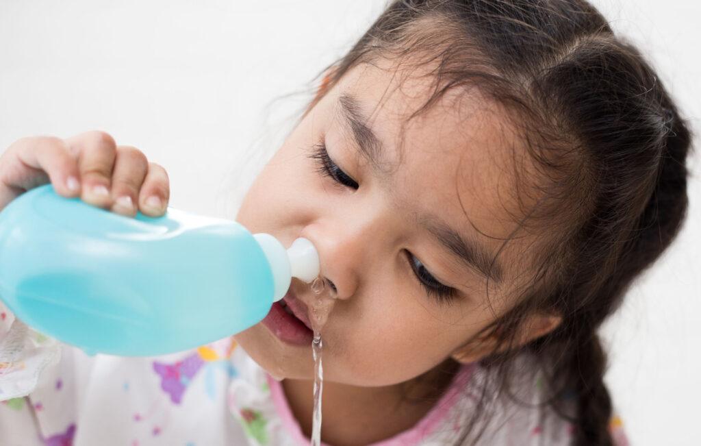 鹽水洗鼻安全無副作用,操作方便,是目前治療鼻敏感應用最廣泛的安全療法。