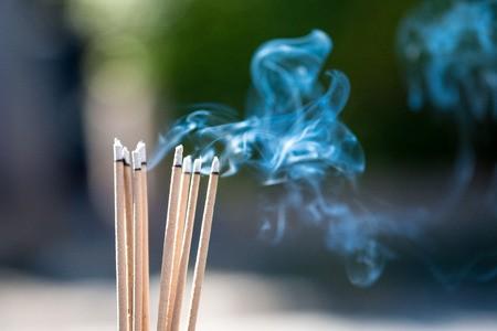 燒香可是老人家的一種精神的寄託,很難戒掉。因此,我們只能盡力減少它的危害,燒香時盡量保持室內空氣流通,避免把食物暴露在燒香的環境中,小心注意防火等。