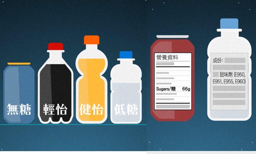 市民不應只著眼「無糖」或「低糖」的包裝,應細心閱讀食物營養標籤選擇。