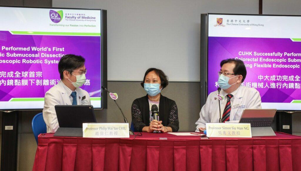 臨床研究計劃參加者陳女士。