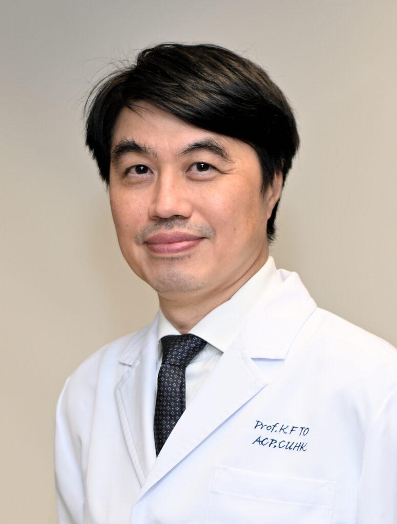 中大醫學院病理解剖及細胞學系系主任杜家輝教授