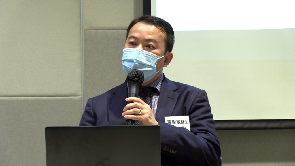 腎病科專科羅學敬醫生。