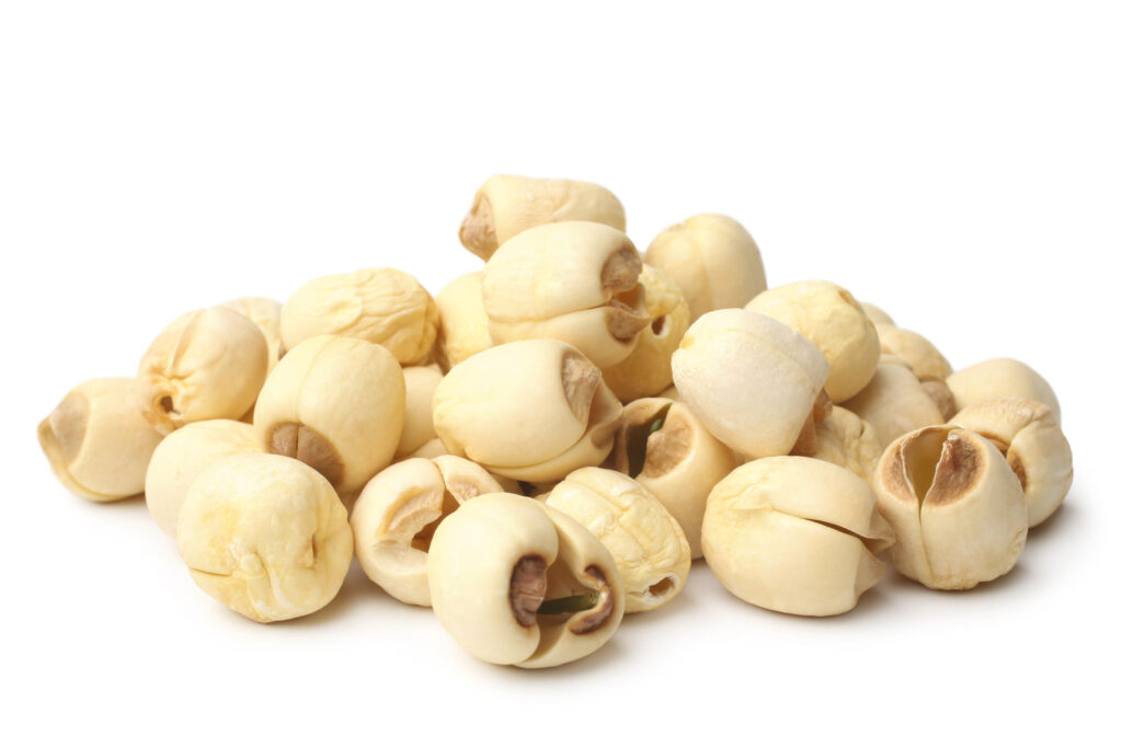蓮子有養心安神、健脾補腎的作用,對於防止老化很有功效,是補氣固腎的健康食品。