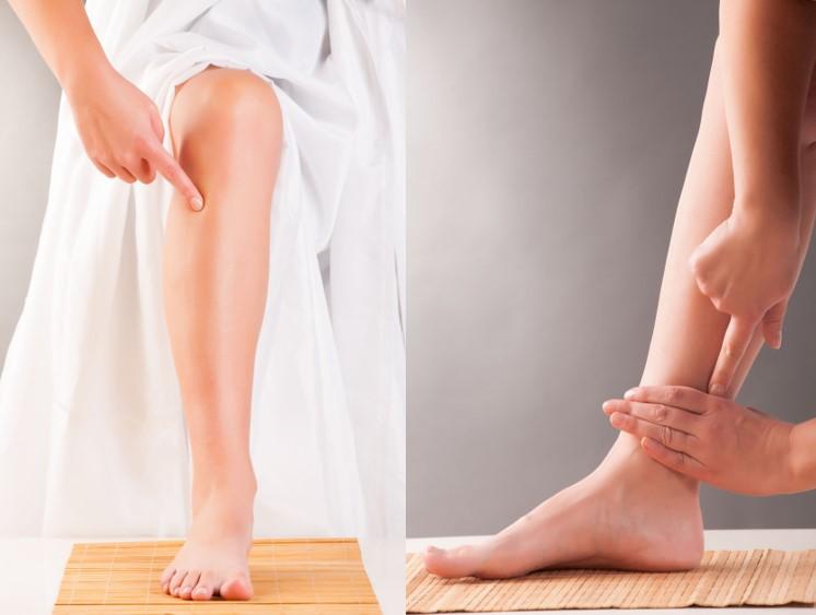 三里穴位於外膝眼下四橫指,而三陰交穴位於小腿內側,內踝尖上3寸。