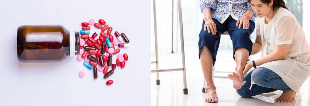 口服藥物常用作治療關節炎;物理治療及適量運動有助緩和病情