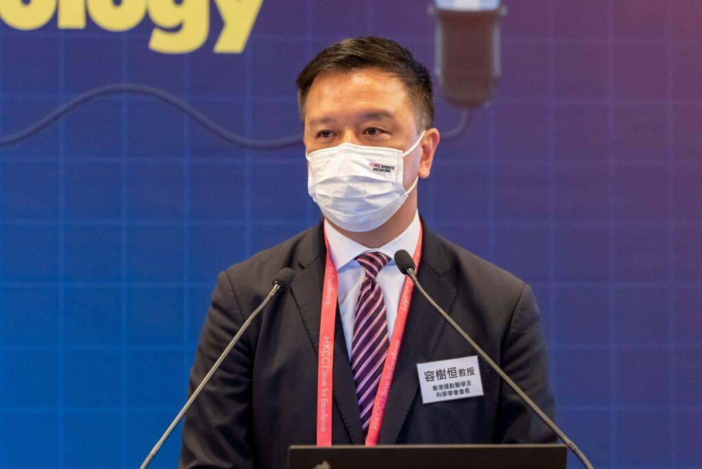 香港運動醫學及科學學會會長容樹恒教授表示,學會一直推動職業及精英運動員作季前身體檢查。