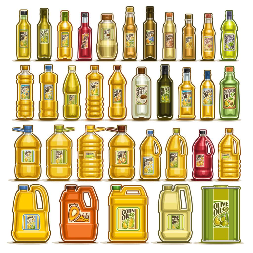 每3個月更換食油,可以攝取不同類別的脂肪酸及營養素。