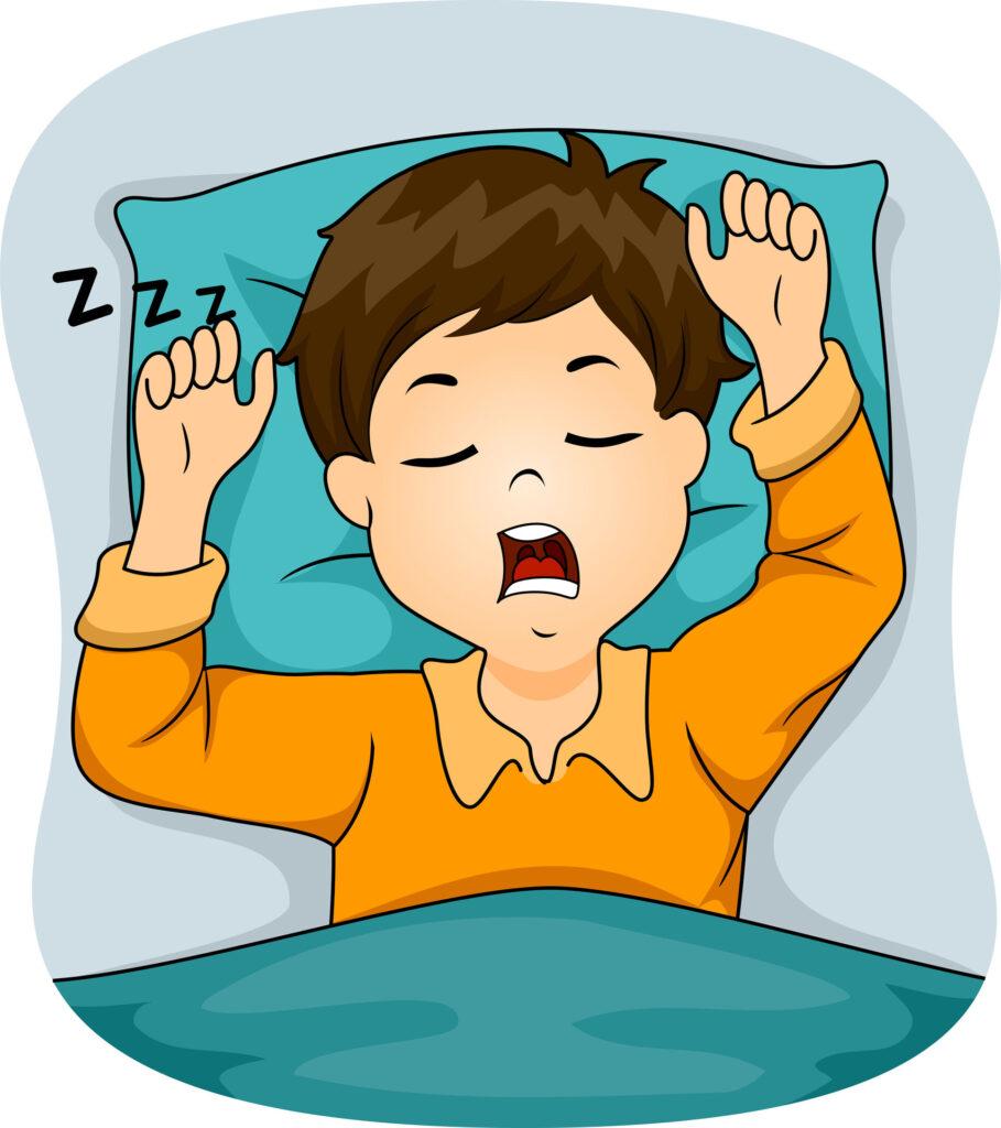 如發現小朋友一周內有多於3次睡覺時打鼻鼾,已有8成機會是患上睡眠窒息症。
